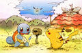 Squirtle and Pikachu - Pokemon Mystery Dungeon Red and Blue Rescue Teams.jpg