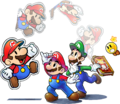 Group art - Mario & Luigi Paper Jam.png