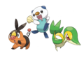 Starter trio - Pokemon Black 2 and White 2.png