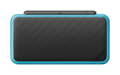 Black + Turquoise (closed shot) - New Nintendo 2DS XL.png