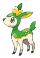 Deerling (Summer) - Pokemon Black and White.png