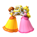 Princess Daisy and Princess Peach - Mario Party 9.png