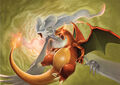 Charizard and Reshiram - Pokemon TCG Sun and Moon Unbroken Bonds.jpg