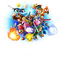 Key art (alt 5) (no logo) - Super Smash Bros. for Wii U.jpg