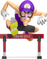 Waluigi - Mario and Sonic at the Olympic Games Tokyo 2020.png