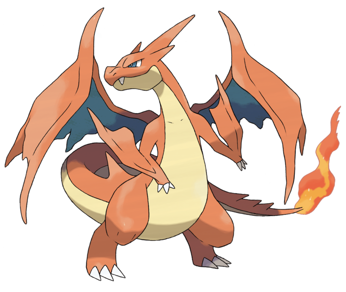 File:Mega Charizard Y - Pokemon X and Y.png