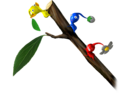 Pikmin on a branch - Pikmin.png
