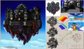 Black Bowser's Castle (concept) - Paper Mario Color Splash.png