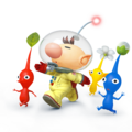 Captain Olimar and Pikmin - Super Smash Bros. for Nintendo 3DS and Wii U.png