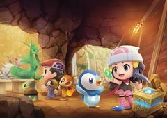 Grand Underground from Pokémon Brilliant Diamond and Shining Pearl