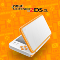 White + Orange promotional image - New Nintendo 2DS XL.png