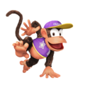 Diddy Kong (Purple) - Super Smash Bros. for Nintendo 3DS and Wii U.png