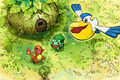 Charmander Bulbasaur and Pelipper - Pokemon Mystery Dungeon Red and Blue Rescue Teams.jpg