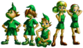 Kokiri kids - The Legend of Zelda Ocarina of Time.png